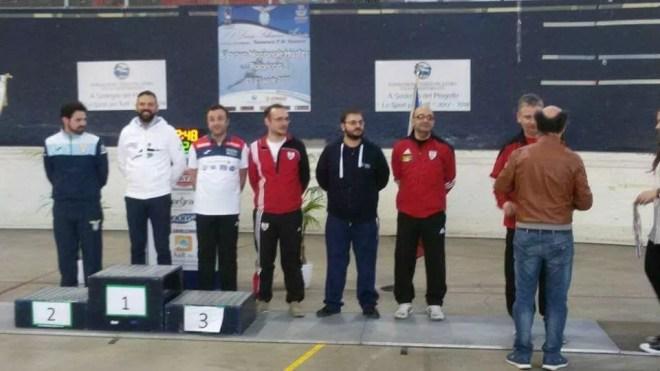 22 aprile 2017 Palariccia 6^ prova nazionale master  Veteres Spada maschile