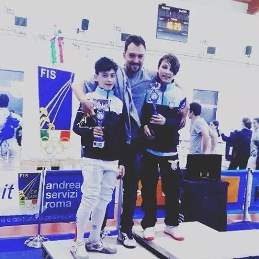 Campionato Regionale Lazio Categoria ragazzi fioretto