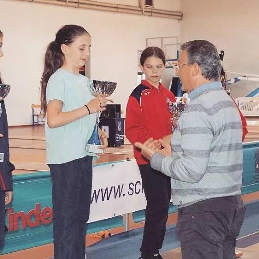 Campionato Regionale Lazio Categoria bambine fioretto