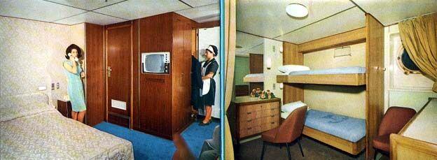 One Room Cabin Interiors