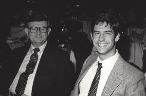Bill Hilleary and son, Scott in NYC circa 1982