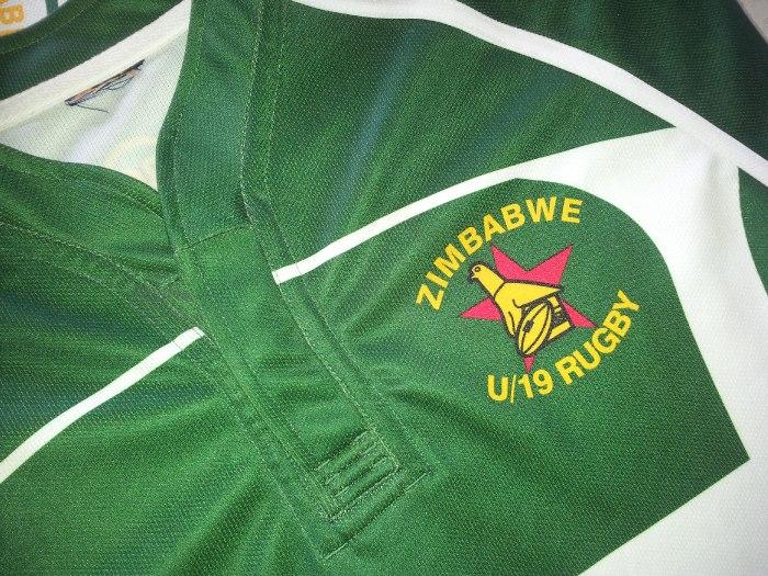 Zimbabwe u19 Rugby jersey
