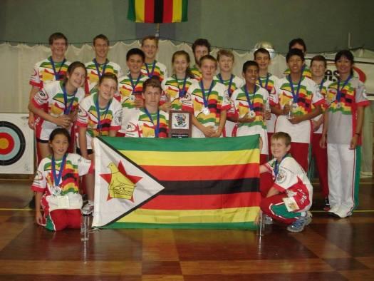 NASP Team Zimbabwe 2014 - Silver Medalists