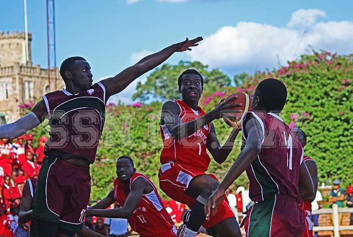 St George's Basketball Captain