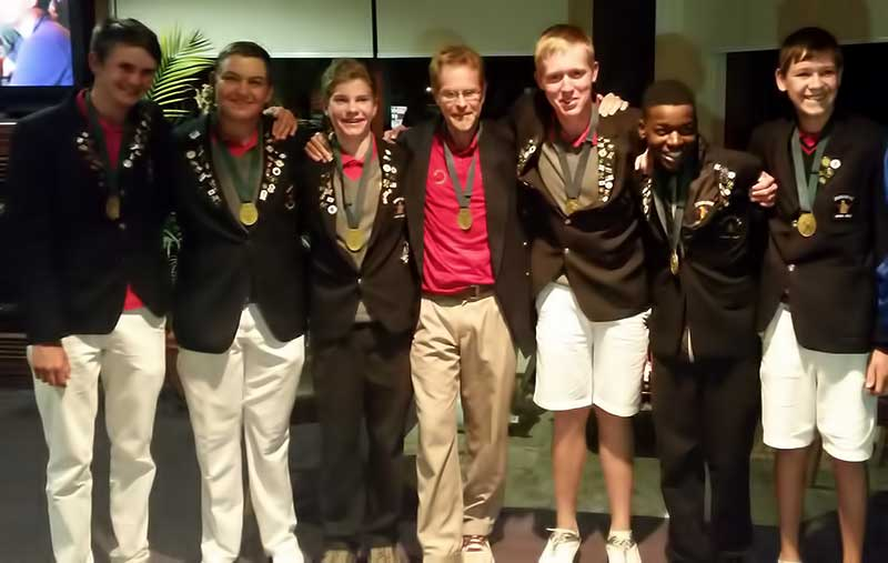 Team Zimbabwe Junior Golf