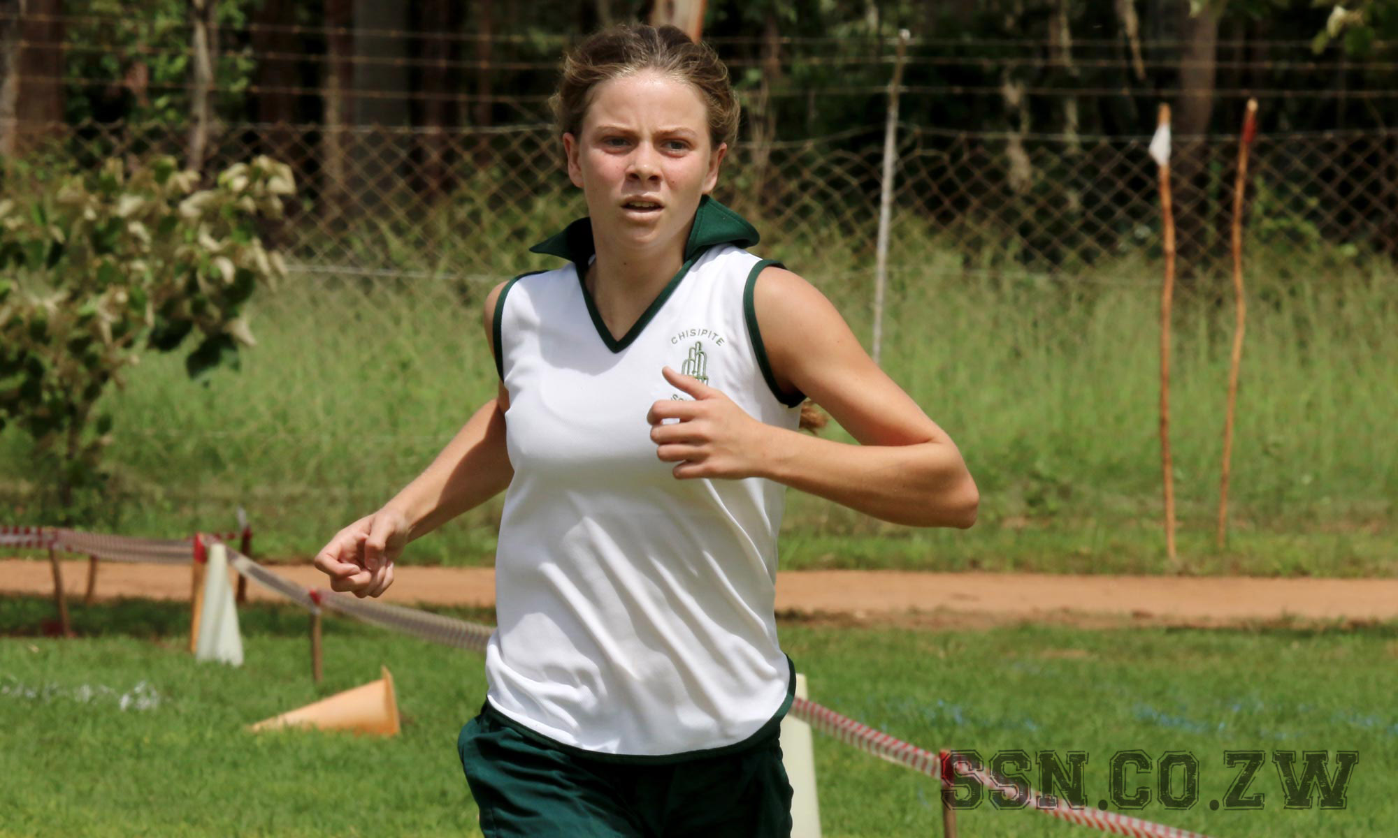 Paige Van Der Westhuizen of Chisipite Senior School Cross Country
