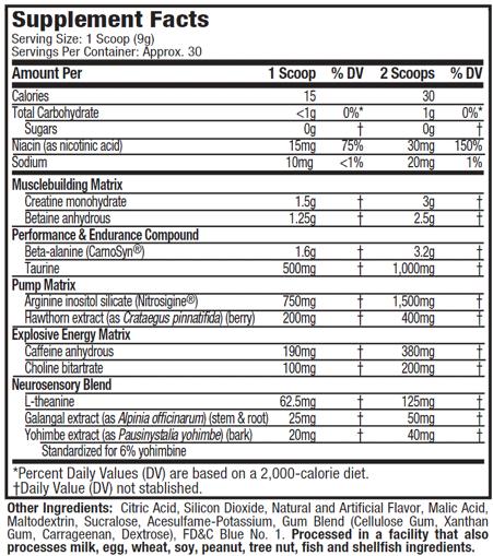 VaporX5-Next-Gen-nutritional-facts