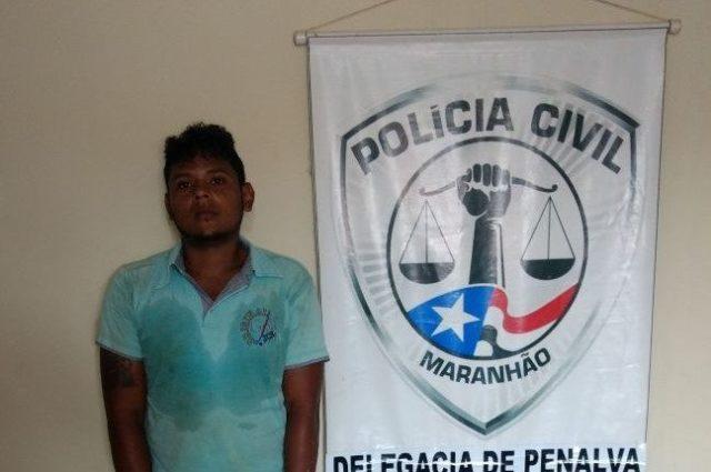 Penalva: Suspeito de roubo qualificado é preso pela Polícia Civil