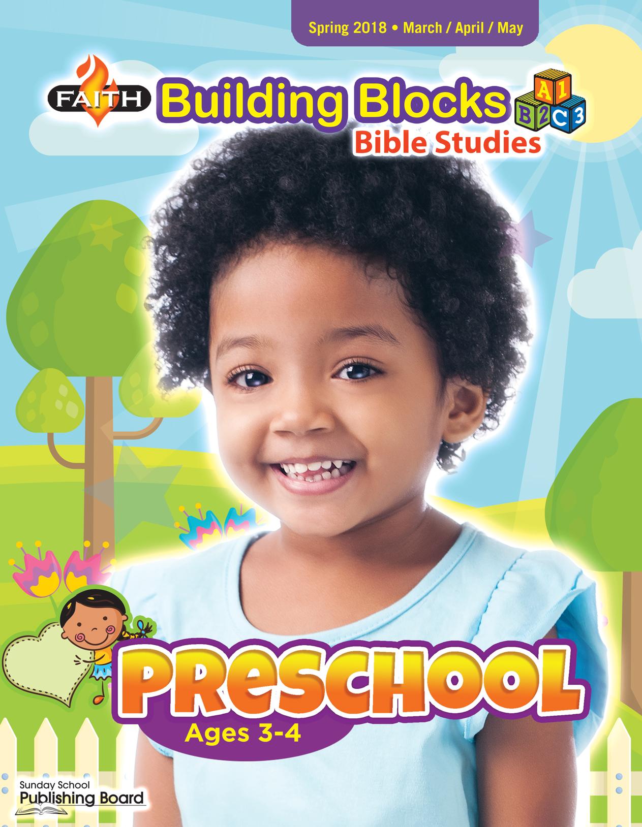 Faith Building Blocks Bible Stu S Preschool Ages 3 4