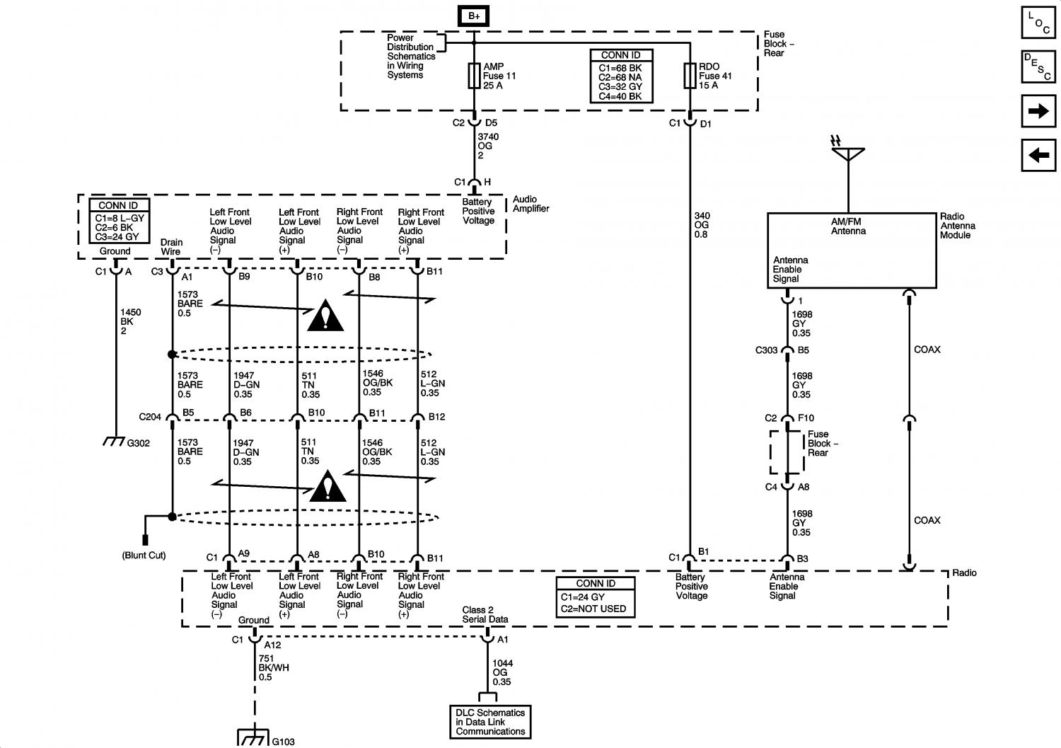 Chevy Silverado Radio Wiring Diagram Chevy Wiring