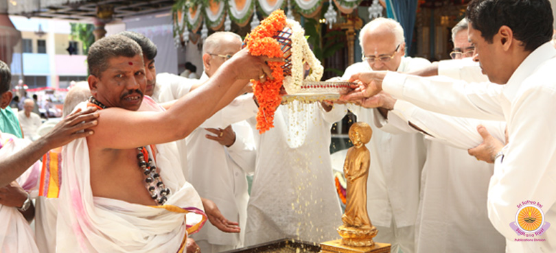 Maha Sahasra Kalashabhishekam for Universal Peace and Prosperity…