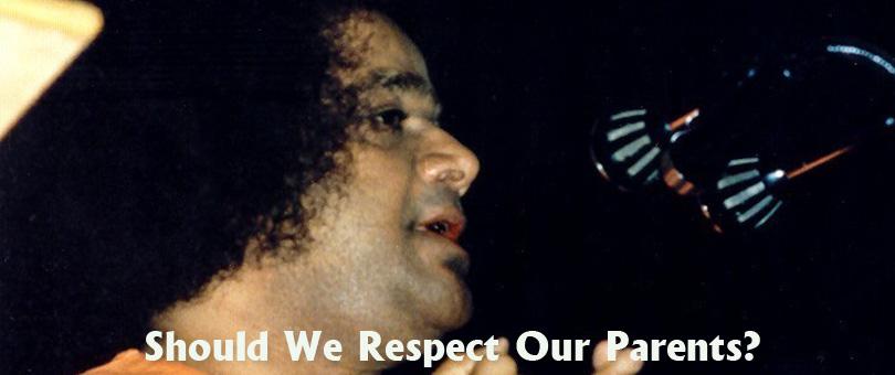 Should We Respect Our Parents?