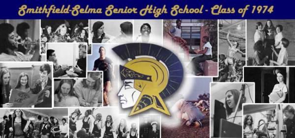 Students - Smithfield-Selma Senior High School, Class of 1974