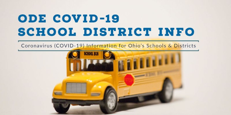 ODE COVID-19 School District Info