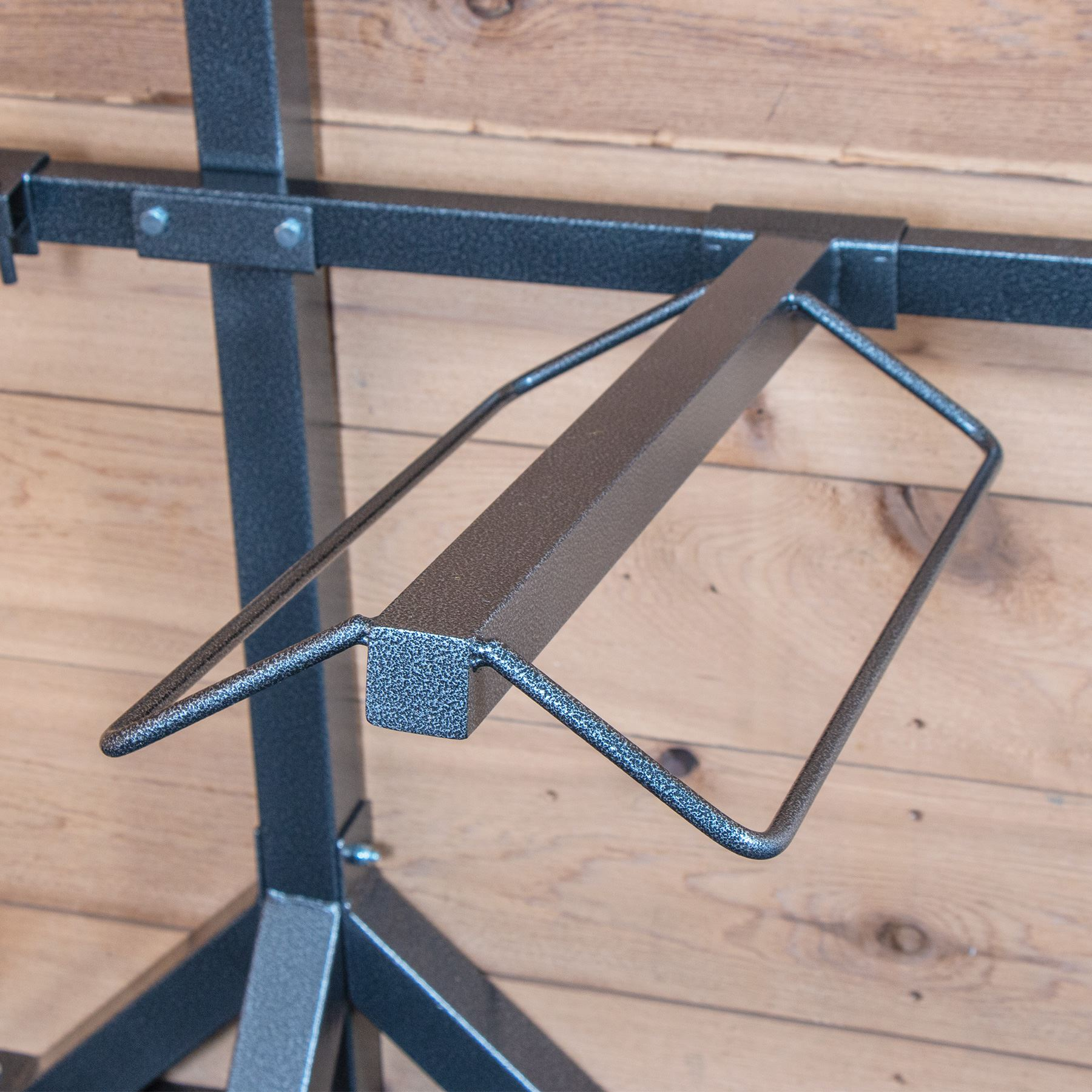 easy up titan interchangeable saddle tack stand