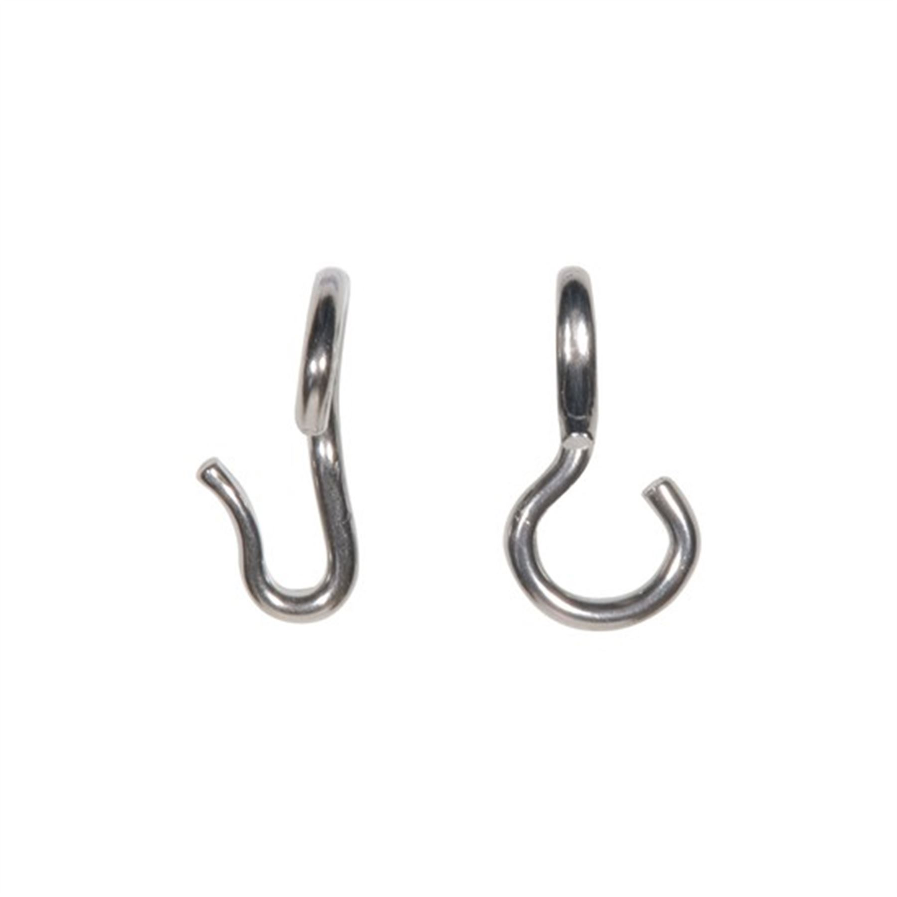Stubby Never Rust Curb Hooks In Bit Accessories At