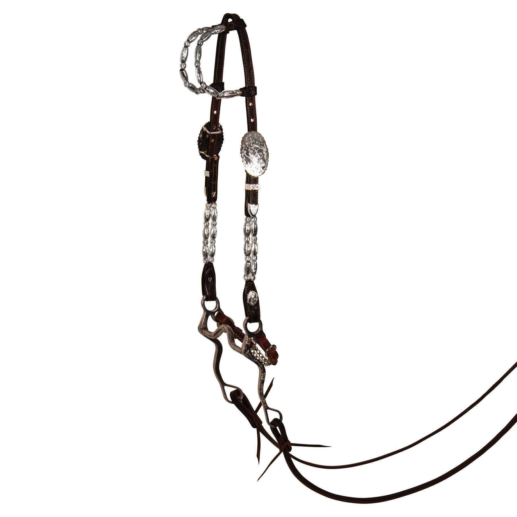 Billy Royal Double Row Two Ear Headstall In Billy Royal
