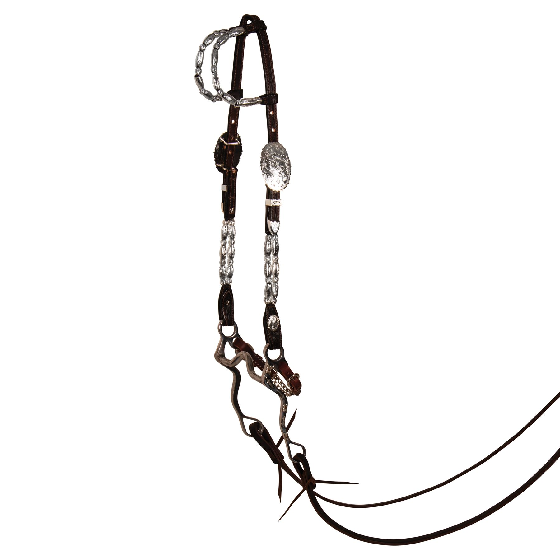 Billy Royal Double Row Two Ear Headstall In Western At