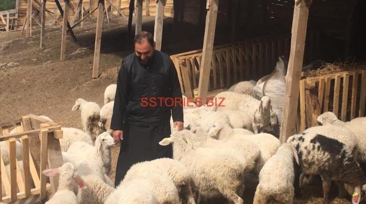 Отец Серафим с новото стадо