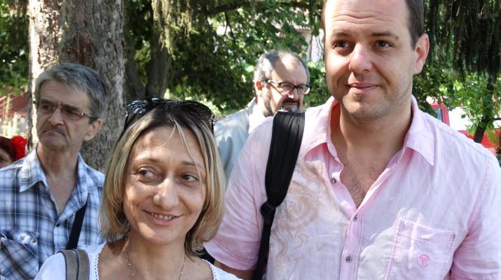 Борислав Сандов и Юлия Григорова