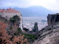 the Monastery at Meteora