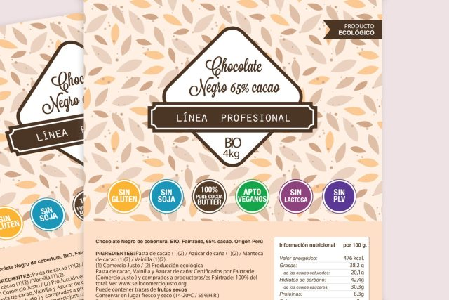 chocolatesisabel chocolate negro profesionales portfolio