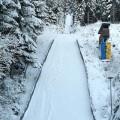 Max-Liesche-Schanze im Winter