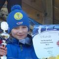 Clara belegte Platz 3 in der NK