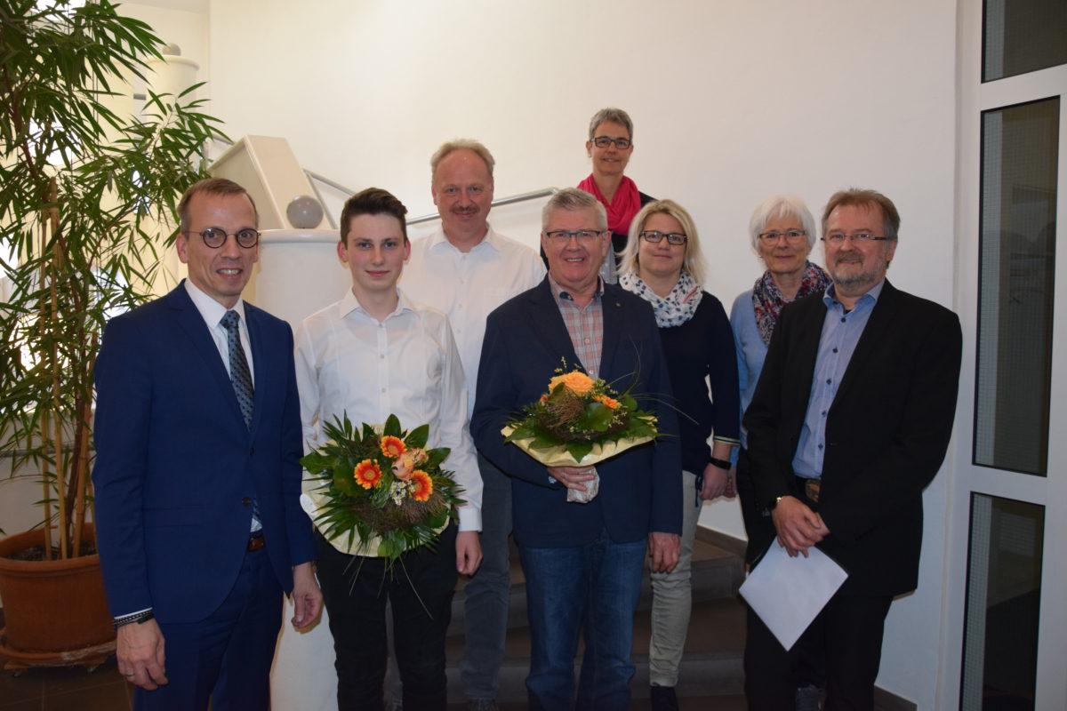HLC und TuS Ovenhausen erhalten Auszeichnung für besonderes soziales Engagement