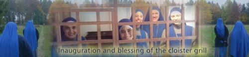 Bendición de la clausura del Monasterio en Luxemburgo