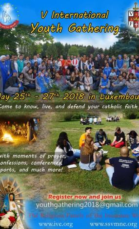 Youth Gathering 2018-IVE-SSVM-Luxemobourg