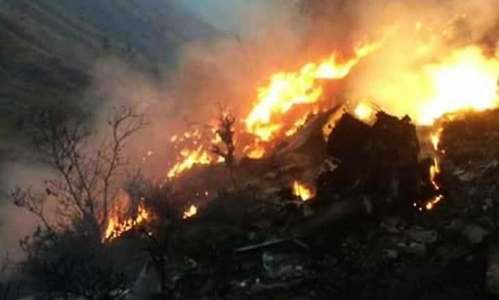 تحطم طائرة باكستانية