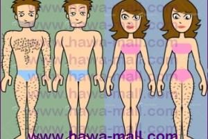 وصفات لإزالة شعر المناطق الحساسة لكلا الجنسين دون ألم