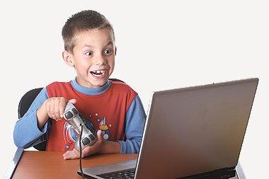 اثر الالعاب الالكترونية على الاطفال
