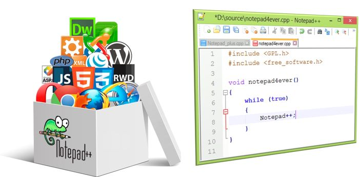 Download Notepad++ free