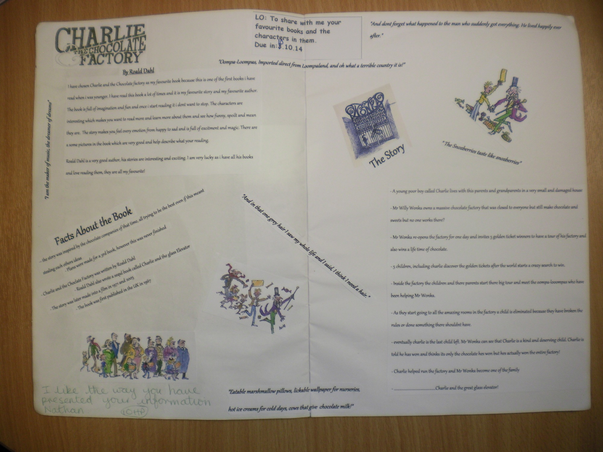Year 5 Learning Journal St Bernadettes Catholic Primary