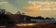 Week Beginning 24 April - Week B