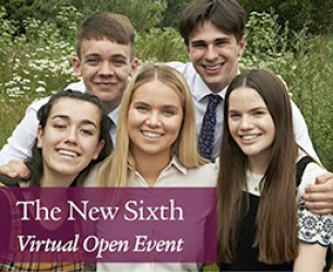 New Sixth Virtual Open Day Event