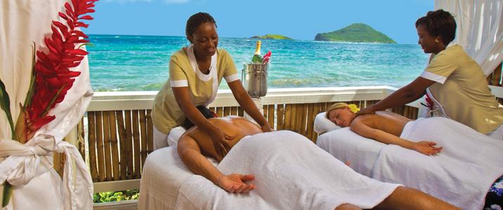 Coconut bay resort in St. Lucia