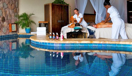 Jade Mountain all inclusive massage treatment