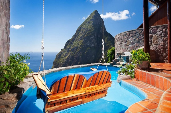 Ladera resort in St Lucia. ladera villa in st lucia. paradise ridge at ladera resort in st lucia. Book your vacation at the ladera resort in st lucia. All inclusive vacation in st lucia.