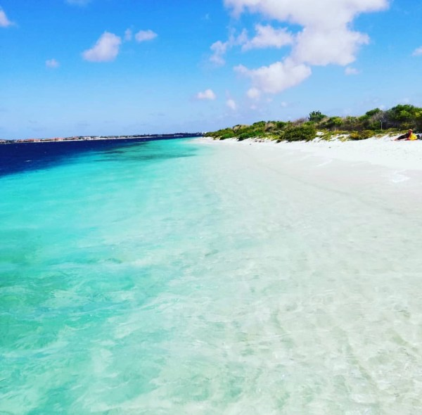 no name beach in Bonaire