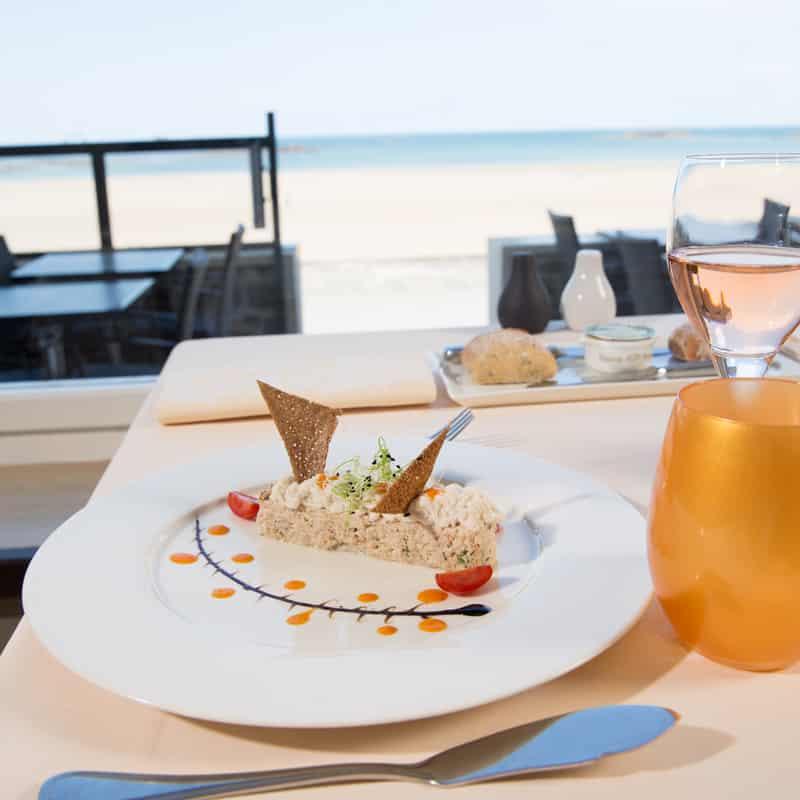 restaurant vue mer Saint-Malo