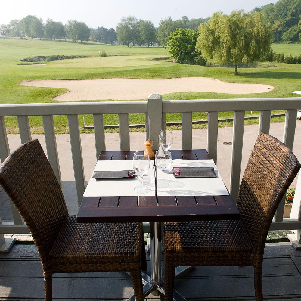 Hotel Golf : Restaurant la terrasse