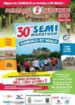 Semi marathon Cancale Saint-Malo