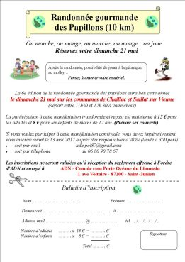 Fiche inscription RG 2017