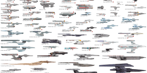 Starship Size Comparison Charts 187 Star Trek Minutiae