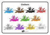 thumbnail of Colour word mat