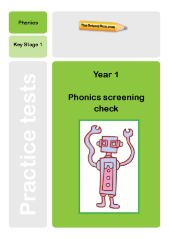 Phonics screening mock test 4