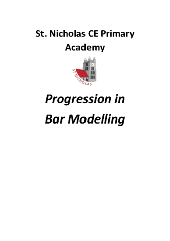 Progression in Bar Modelling